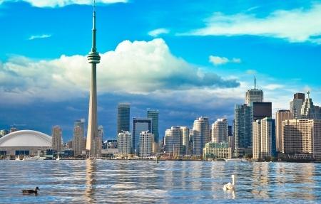 Vista general de la ciudad de Toronto.