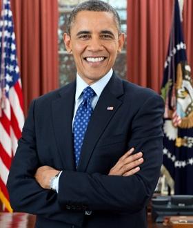 Foto oficial del abogado Barack Obama, presidente de los Estados Unidos de América.