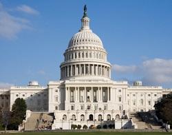 Edificio del Capitolio de Estados Unidos.