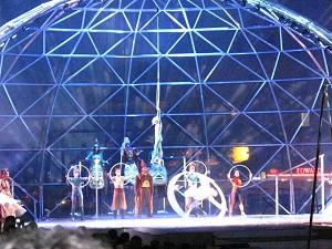 """La empresa circense """"Cirque du Soleil"""" es de origen quebequense."""