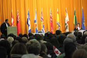 Ceremonia de obtención de la ciudadanía canadiense