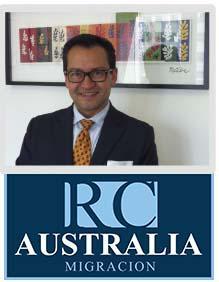 Juan Rincón, Agente de Migración Australiano