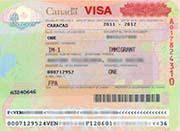 La visa a Canadá