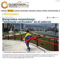 Entrevista a MeQuieroIr.con en Globovision.com