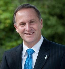 Foto oficial de John Key, Primer Ministro de Nueva Zelanda.