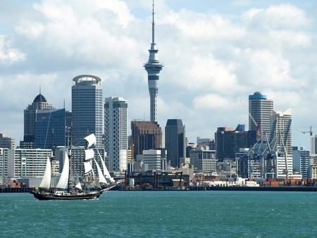 Vista de Auckland.