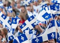 El Día de San Juan Bautista constituye un día feriado no laborable en Quebec.