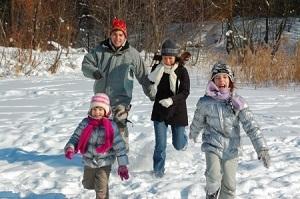 Consejos para la vestimenta familiar durante el invierno.