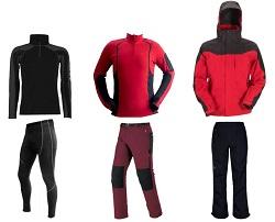 Se aconseja usar tres capas de ropa, dependiendo de la faena por realizar y de la temperatura exterior.