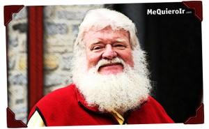 Santa, un inmigrante bien establecido en Canadá.