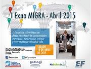 Participa en Expomigra el 18 de julio de 2015, en el Hotel Eurobuilding de Caracas.