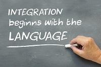 El manejo de la lengua extranjera es la clave del éxito del inmigrante.