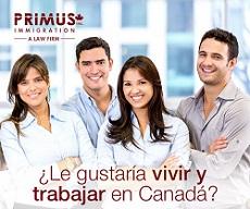 PRIMUS Immigration es un escritorio jurídico de emigración a Canadá, que ofrece diversos servicios de asesoría legal y de acompañamiento a los inmigrantes.