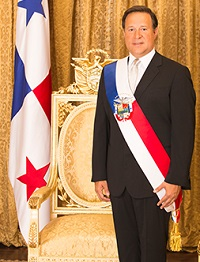 Juan Carlos Varela, presidente de Panamá.