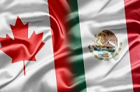 15008936 - canada and mexico