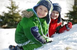 Cuando la temperatura alcanza la marca de -25° C, no se debe dejar que los niños jueguen al aire libre.