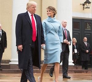 Con un discurso anti-inmigración, Donald Trump llevó a la Casa Blanca a una inmigrante de origen esloveno.
