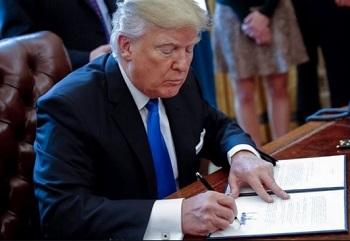 Nuevo decreto presidencial de Trump contra funcionarios del régimen venezolano.