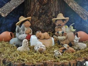 Los pesebres latinoamericanos constituyen obras de artesanía de gran valor folclórico.