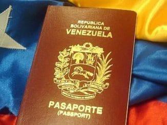 Pasaportes venezolanos en el exterior