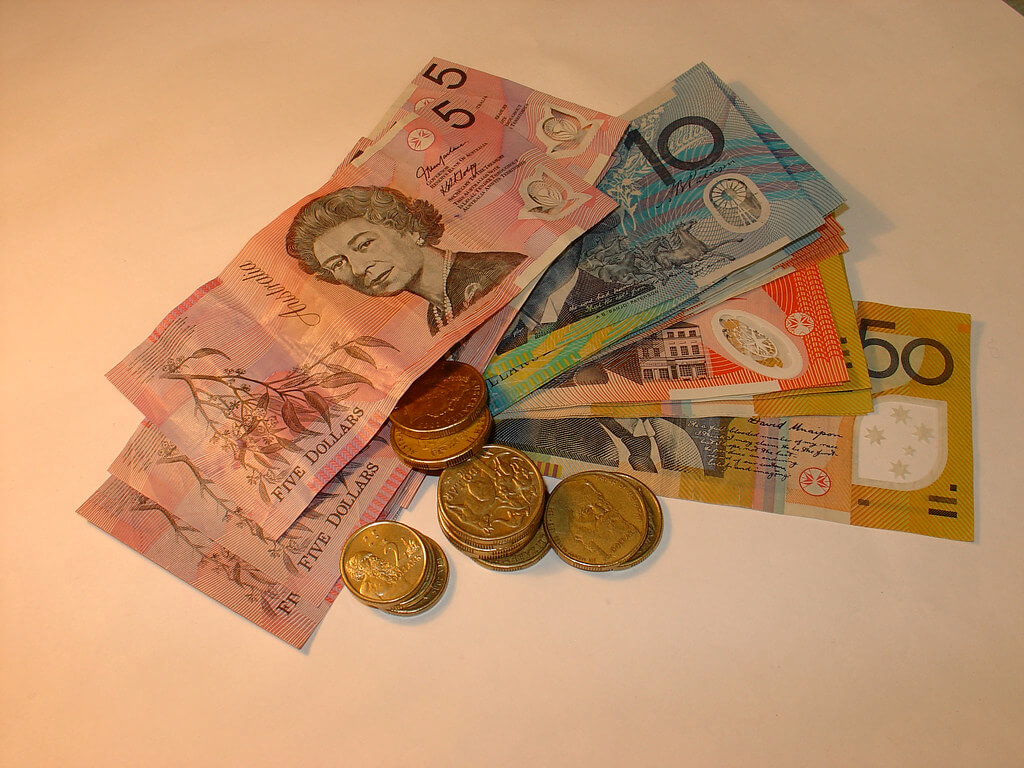 Moneda y bancos en Australia